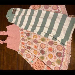 NWOT Matilda Jane dress/pants set sz 10